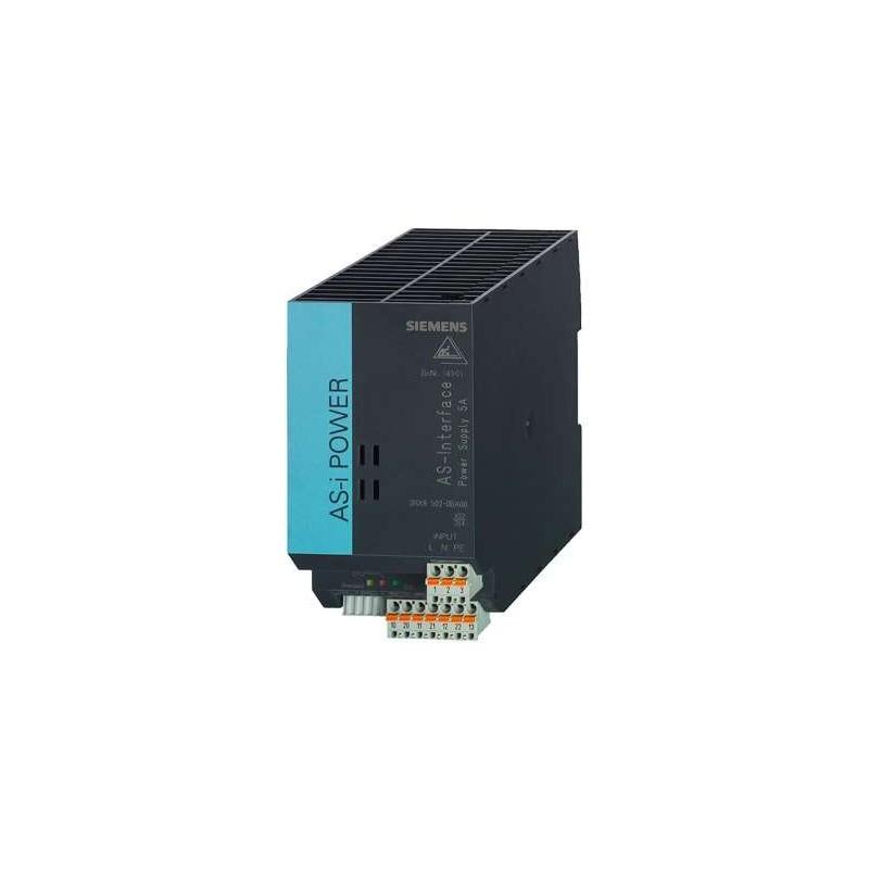 3RX9502-0BA00 SIEMENS AS-INTERFACE POWER SUPPLY 120V/230V AC 5A